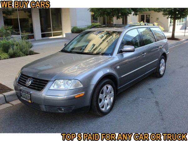 Used 2003 Volkswagen Passat for Sale in Bellevue, WA – TrueCar