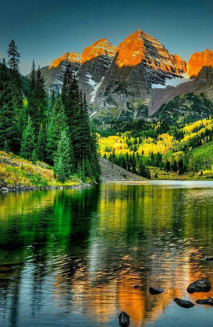Mountain Sunset Beautifulnature Naturephotography Nature Photography Sunset Reflections Mountains Beautiful Nature Beautiful Landscapes Nature Scenes