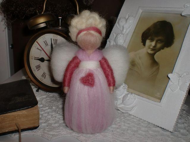 andělička růžová