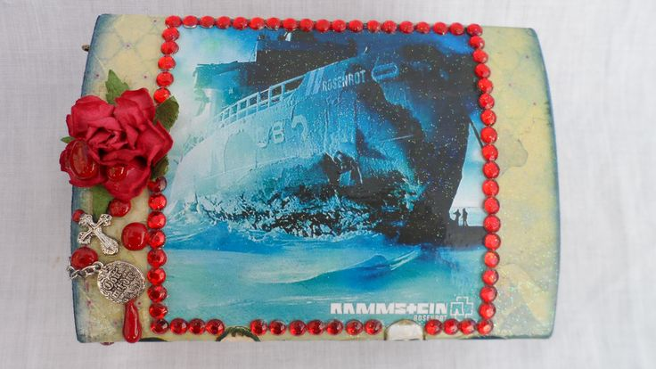 SOLD! Rammstein 'Rosenrot' album box.