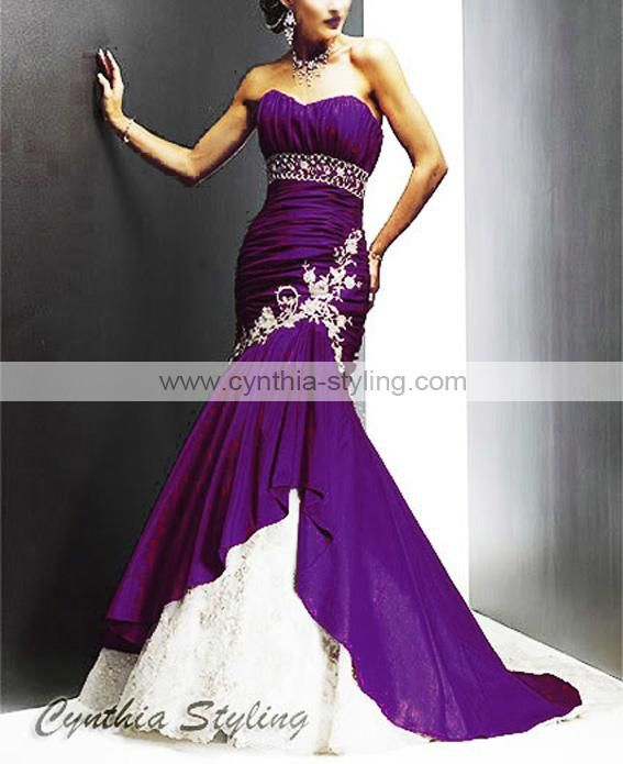 Best 25 purple wedding gown ideas on pinterest purple for Cream and purple wedding dresses