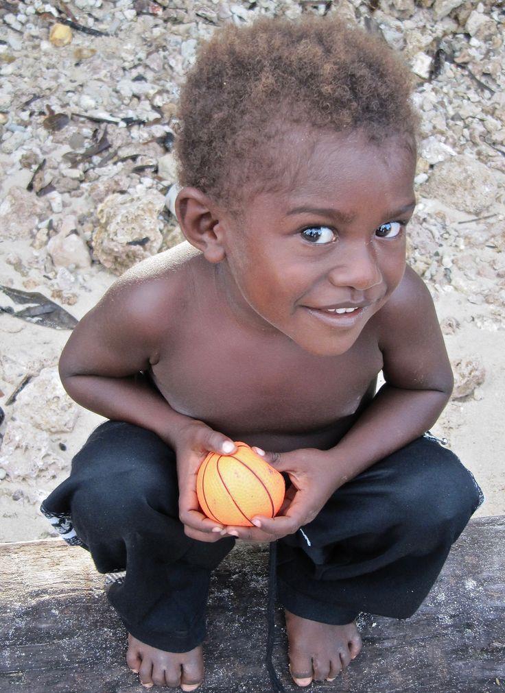 Child, Papua New Guinea.