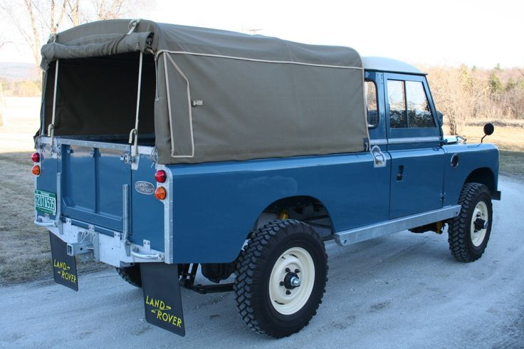 Restored 1963 Land Rover Series 2A 109 Pick-Up | Bring a Trailer