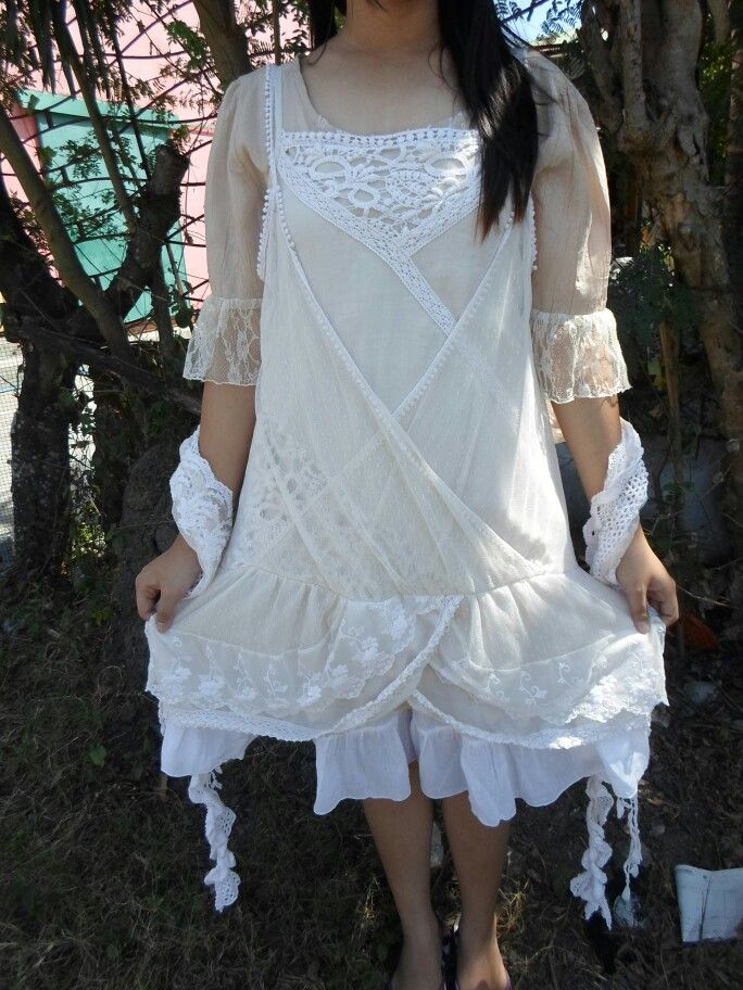 Dreamy mori girl coord for the summer