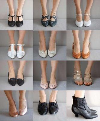 Vintage Shoe Bounty Clothes Pinterest Inspiration