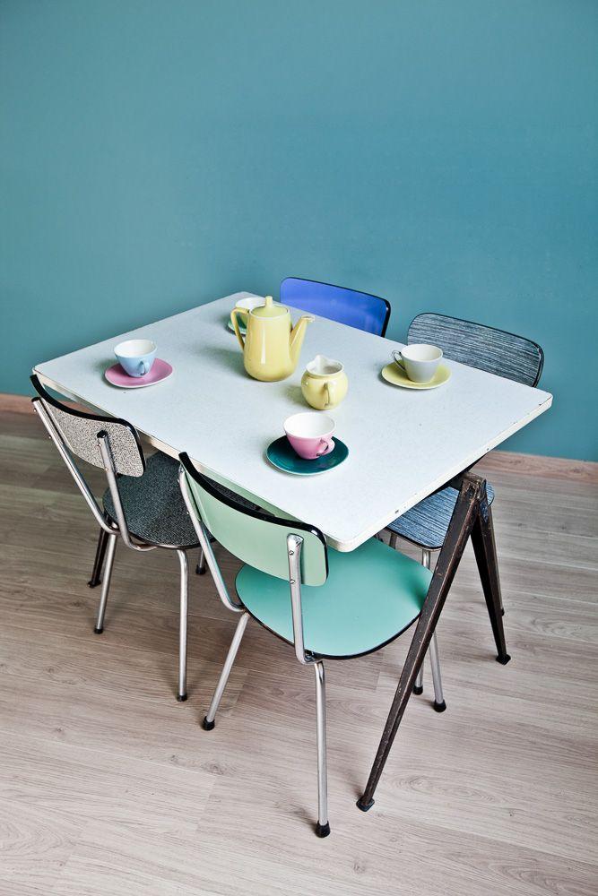 Zolderstudio (c) Jelle Sluyts Boch / Wim Rietveld pyramid tafel