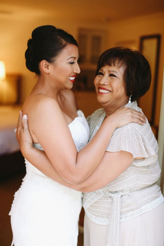 Mother-Daughter Wedding Moments | Oh Lovely Day | Allie Lindsay Photography