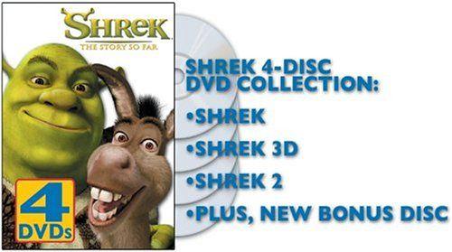Shrek - The Story So Far (Shrek 1 & 2 Full Screen / Shrek 3D - Party in the Swamp) @ niftywarehouse.com