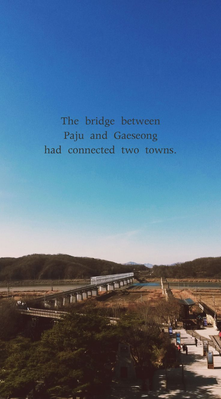 #9 Visit Imjingak where you can observe the sadness of division of Korea.