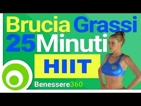Dimagrire Velocemente con il Cardio TABATA HIIT - Workout 30 Minuti - YouTube