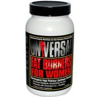 Fat Burners for Women from Universal is an incredible nutritional advantage for supplementing any woman's weight and fat reduction program. This scientifically-balanced formula contains the three powerful nutrients Choline, Inositol, and Chromium. Plus Carnitine, Methionine, and Betaine have been added for enhanced metabolic effect and increased energy.