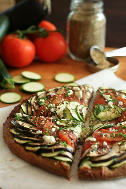 Ratatouille Pizza-8 by Sonia! The Healthy Foodie