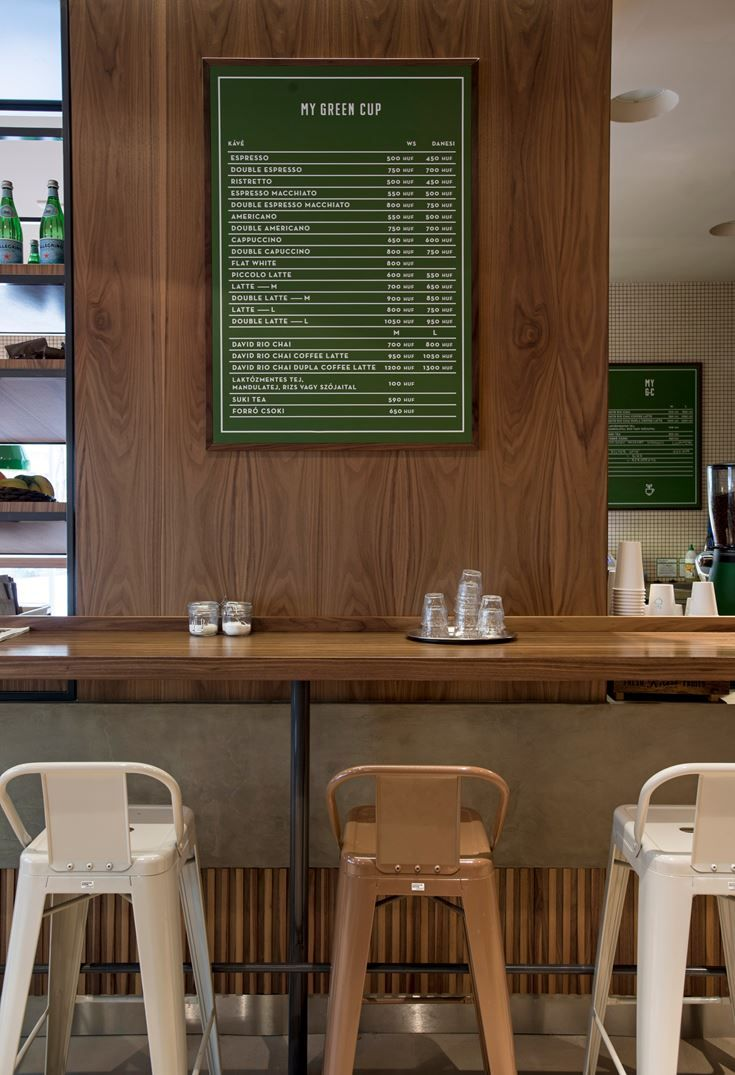 Taking the new-wave caf style on the level of expertise, the POSITION  Collective's project on the My Green Cup interior catches the attention of  both ...