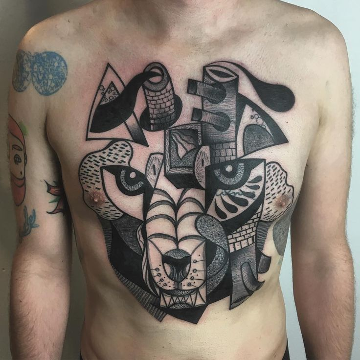 Тату-мастер Peter Aurisch цветные и черно-белые татуировки в стиле кубизм | Tattoo artist Peter Aurisch color design cubism cubic tattoo  #inkppl #inkpplcom #inked #ink #inkedpeople #inktattoo #tattoo #tatts #tattooartist #tattooing #tattoos #tattooist #art #artist #tattooed #татуировка #тату #colortattoo #color #colourtattoo #surrealism #surrealismtattoo #designtattoo #design #abstract #abstraction #cubismtattoo #cubism