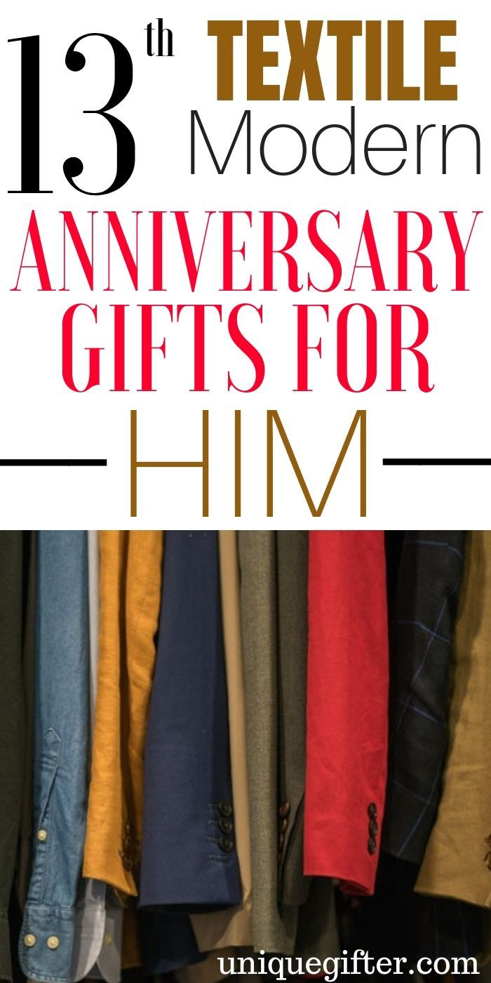 20 13th Textile Modern Anniversary Gifts For Him Anniversary Gifts Modern Anniversary Gifts 13th Wedding Anniversary Gift