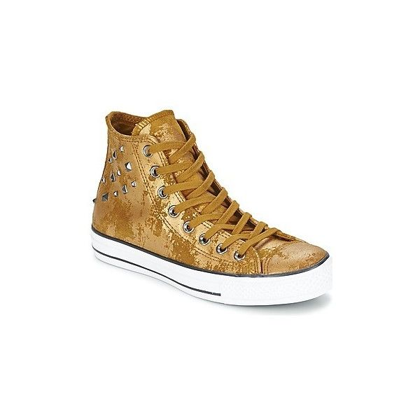 Converse CHUCK TAYLOR ALL STAR HARDWARE Shoes ($125) ❤ liked on Polyvore featuring shoes et sneakers
