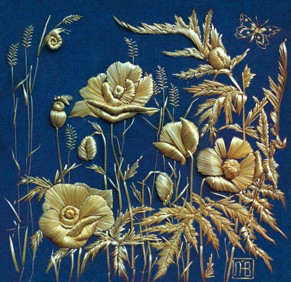Natalia Lashko straw embroidery 4608326_ravlik (600x582, 190Kb)
