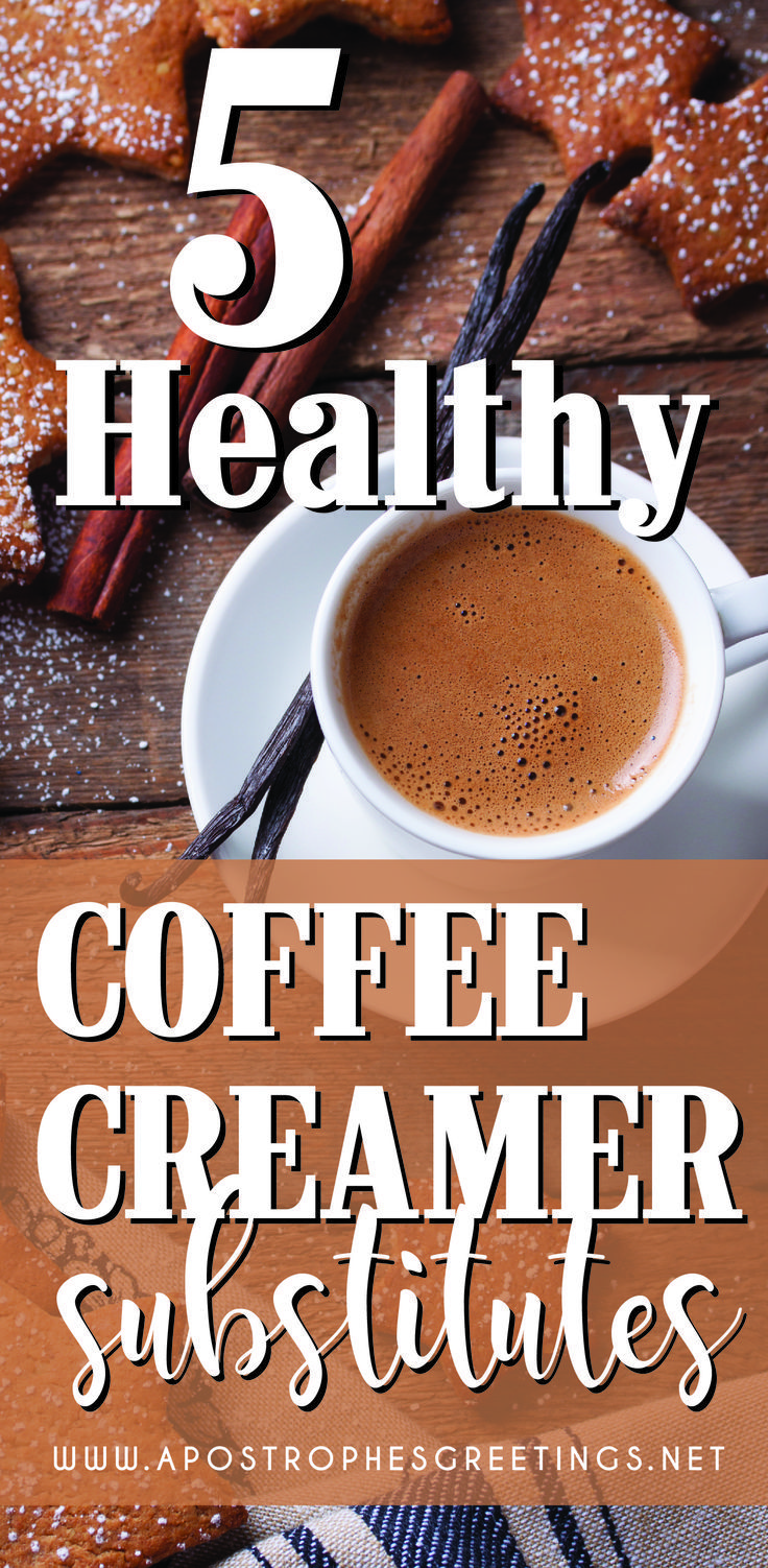 5 Healthy Coffee Creamer Substitutes Healthy coffee