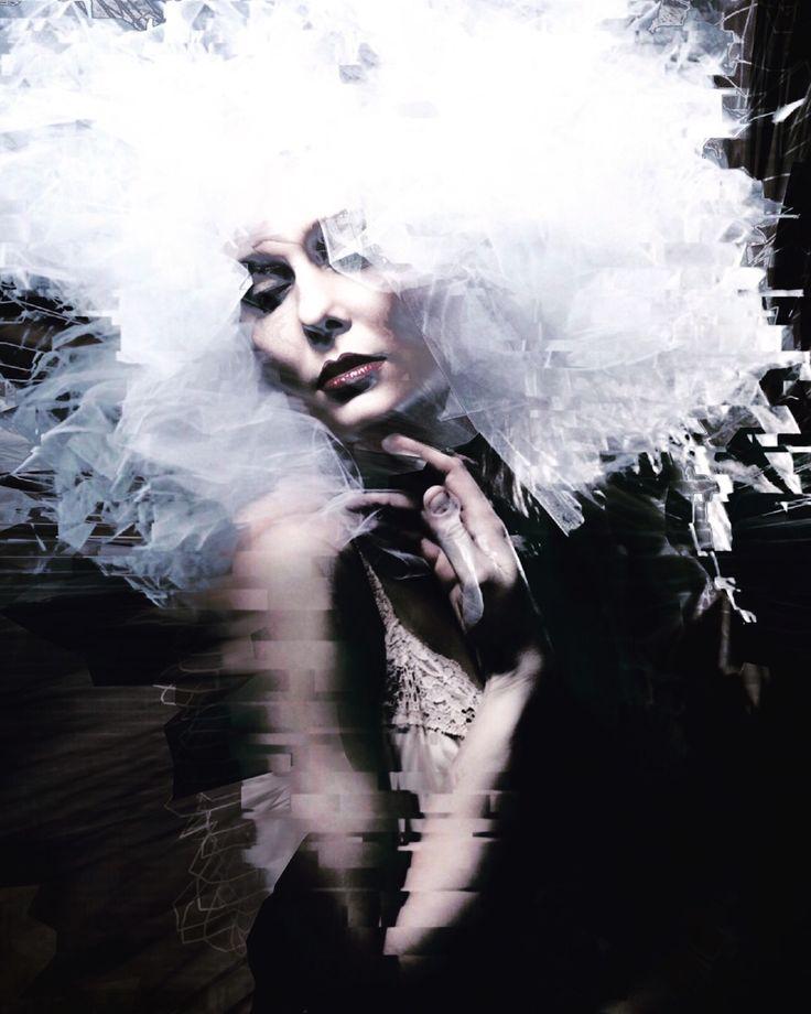 """clem-n-r-g: """"Source: darkbeautymag Photographer: Airah Mei Model: Heather Wilson """""""