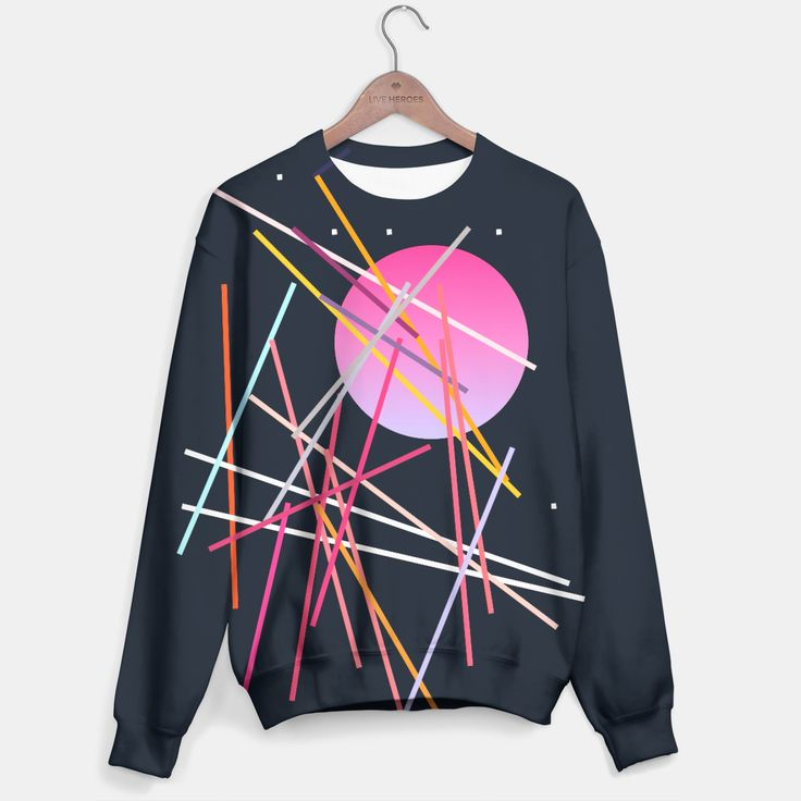 Geometric Space Sweater, Live Heroes