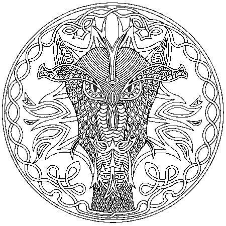 Dessin mandala afrique a colorier dessin pinterest - Dessin d afrique ...