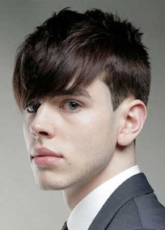 Men s cut classic taper with textured crown disconnected bang and