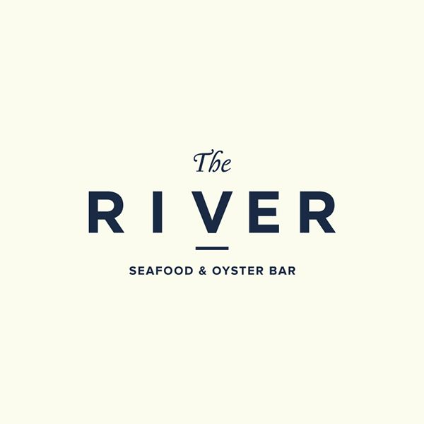 The River restaurant branding | Grits + GridsGrits + Grids