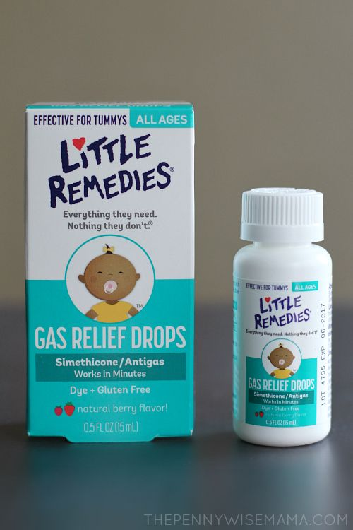 Natural gas relief for babies - Little Remedies Gas Relief Drops