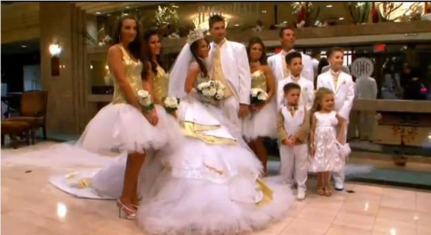 "Romanichal brides LOVE poofy dresses. | 21 Things I Learned From ""My Big Fat American Gypsy Wedding"""