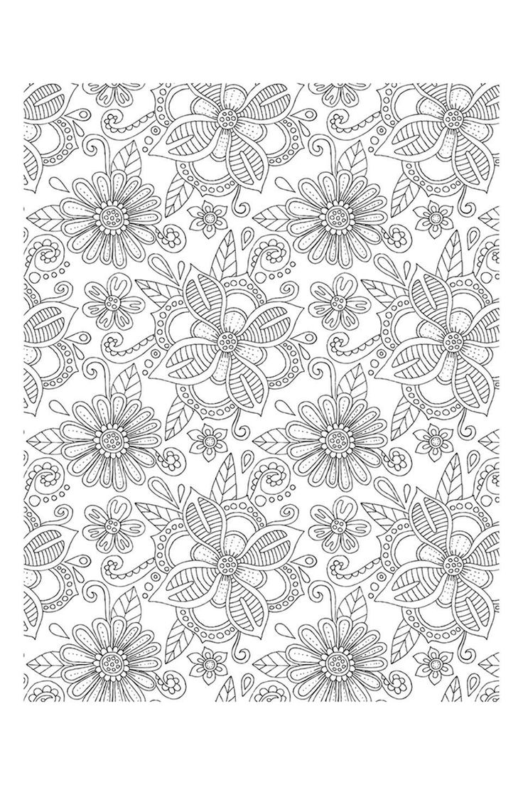 Zen colouring advanced art therapy collector edition - Hello Angel Big Blossoms Coloring Collection