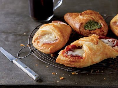 Starbucks' Breakfast Pastry Items Are Wrapped in Flaky Croissant Folds #pastries trendhunter.com