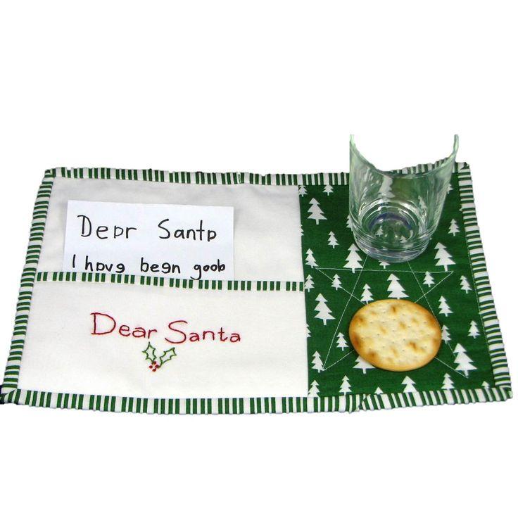 $20.00 Santas Treat Mat by TwoLittleMonkeys on Handmade Australia