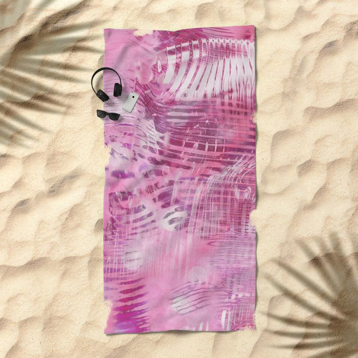 TODAY ONLY: 20% Off + Free Shipping on Beach Towels, T-Shirts, Totes and Other Spring Break Essentials - Shop Our Picks >    Abstract 2017 008 Beach Towel by Christine Baessler. Worldwide shipping available at Society6.com.    Just one of millions of high quality products available.