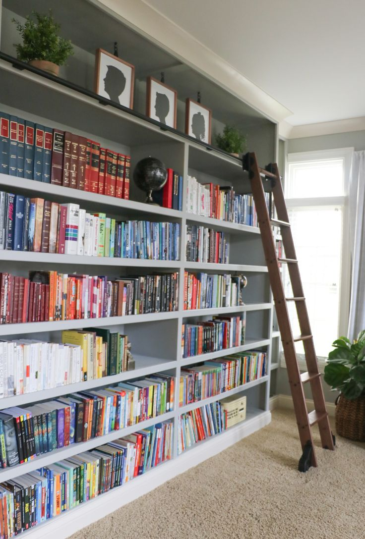 The 25 Best Ideas About Library Ladder On Pinterest