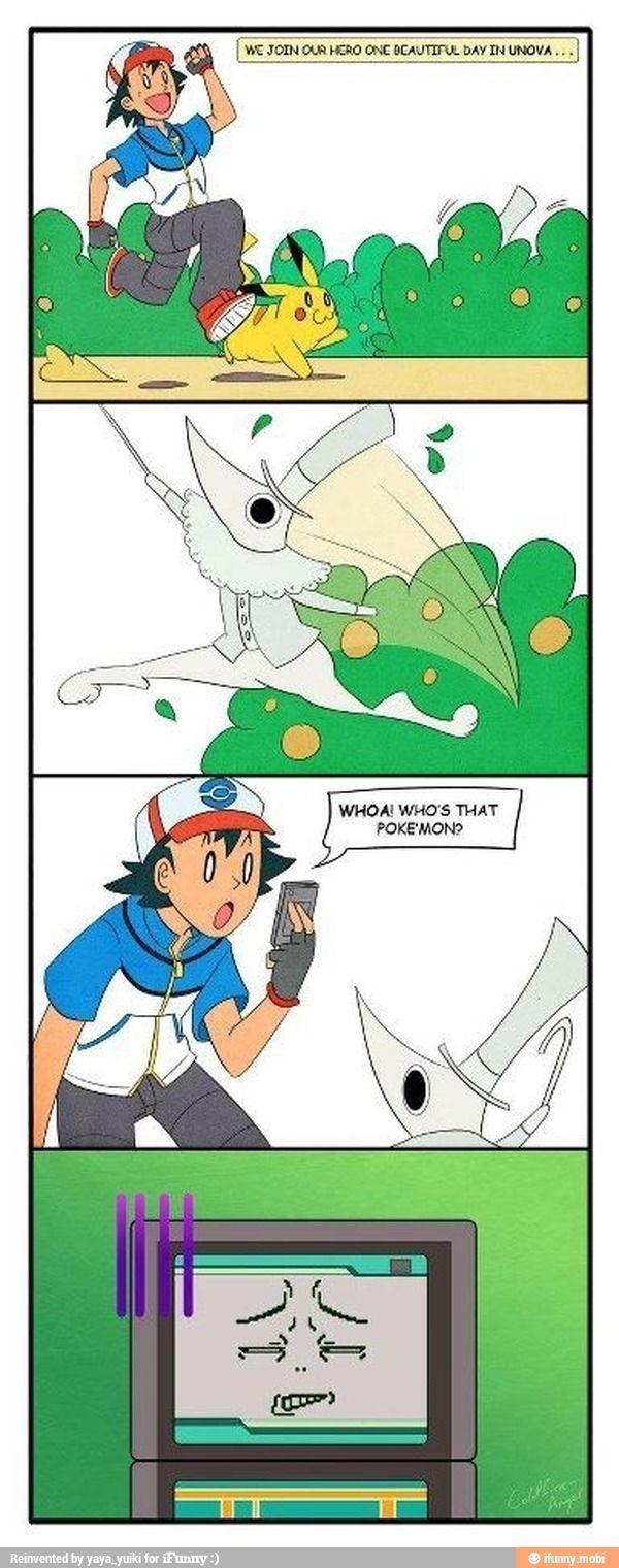 Pokemon soul eater anime Excalibur / iFunny :)