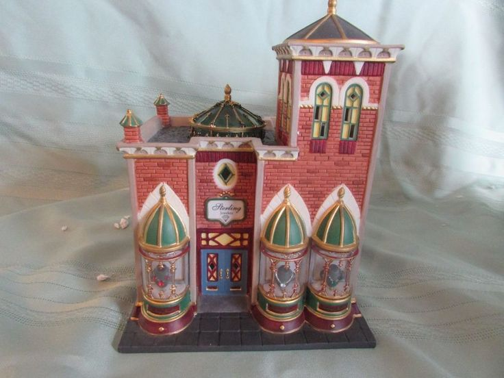 *EUC* Department DEPT 56 Sterling Jewelers CHRISTMAS IN THE CITY SERIES 58926