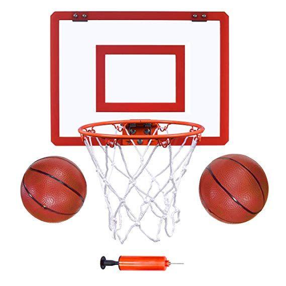 Amazon Com Indoor Mini Basketball Hoop And Balls 16 X12 Basketball Hoop For Door Set Indoor M Mini Basketballs Mini Basketball Hoop Indoor Basketball Hoop