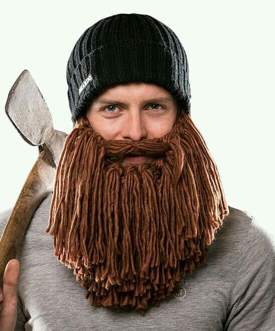 IT'S A FUCKING HAT WITH A BEARD. I NEED IT.