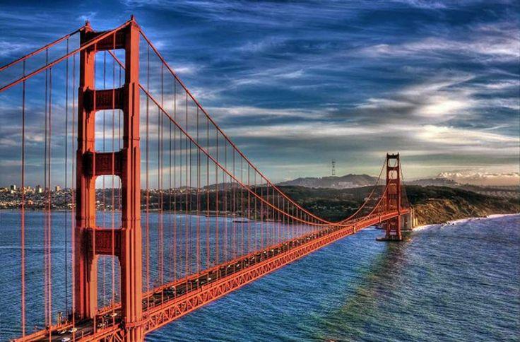 Golden Gate Köprüsü / ABD