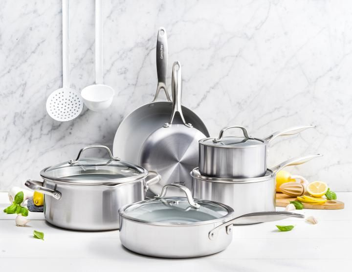 Venice Pro Ceramic Non Stick 10 Piece Cookware Set In 2020