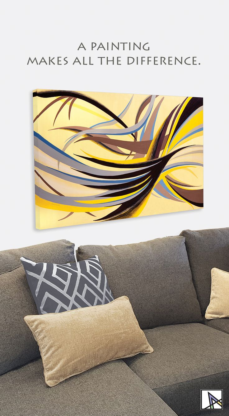 60 best Paintings With Gold Colors images on Pinterest | Abstract ...
