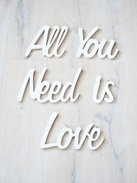 : Inspiration, One Word, White, Love Is, Beatles, Letters Art, Wooden Letters, Love Quotes, True Stories