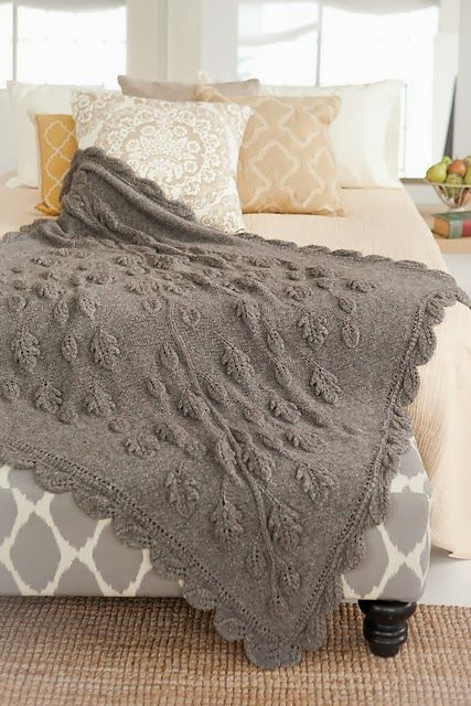 This is one of the most stunning afghans I've ever seen. >> Classic Elite Yarns blog: Cozy Chalet Cover