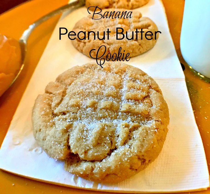 """My family is always telling me to buy bananas so they can start to eat a little healthier. It never fails, I always end up with super ripe bananas and I don't want to just throw them away. I usually do my old stand by of banana bread but this time I wanted to try … Continue reading """"Banana Peanut Butter Cookie"""""""
