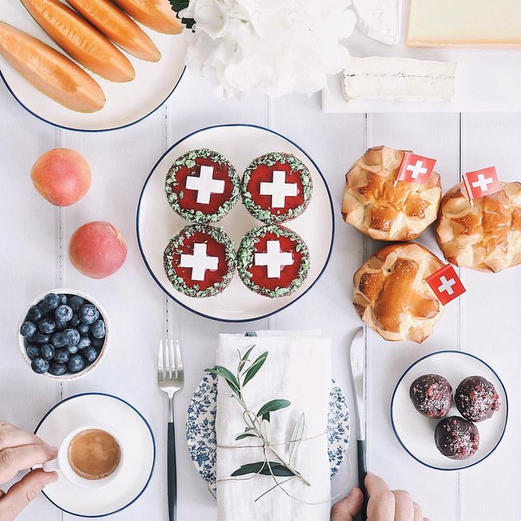 "1,060 Likes, 46 Comments - Harry & Carrie Meier (@harrysding) on Instagram: ""Happy 1. August! 🇨🇭 We 💗 Switzerland! Here is our typical Swiss brunch to celebrate National Day.…"""
