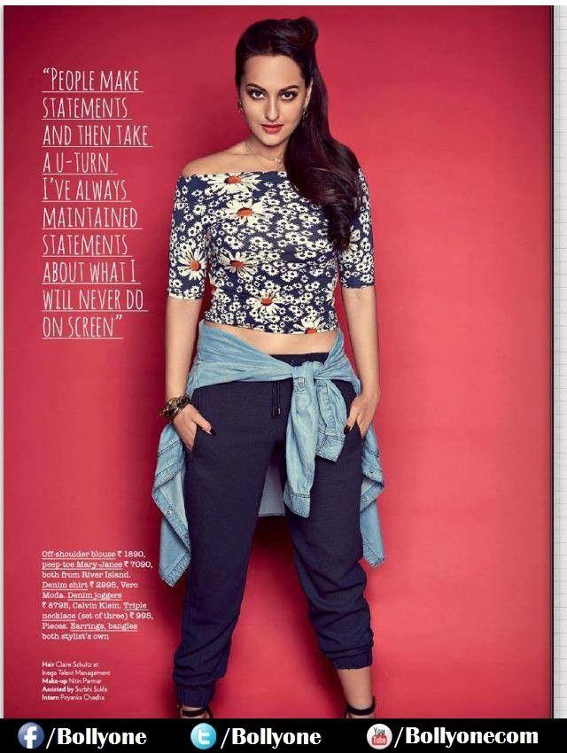Sonakshi Sinha photoshoot for Juice Magazine 2014