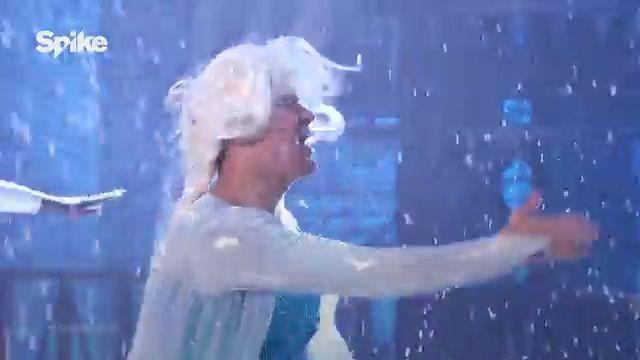 El Actor Channing Tatum Se Viste De Mujer E Interpreta La Canción De Frozen: 'Let It Go' #Video