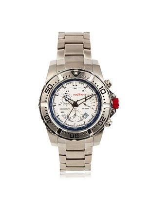 86% OFF red line Men's RL-90008-22S Racer Silver Stainless steel Watch