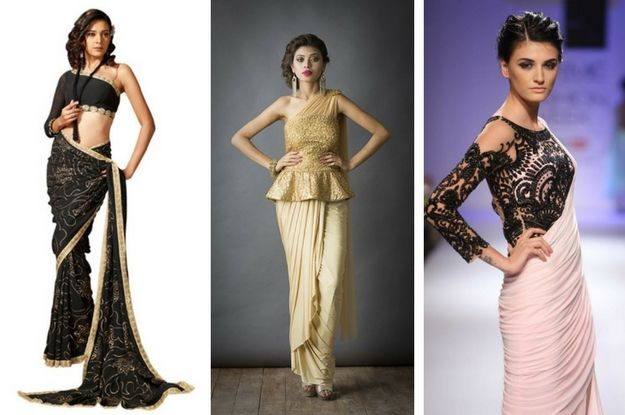 Check out some amazing latest modern saree blouse designs and let the trend starts right from you. Want to know a secret for looking modern with sarees...