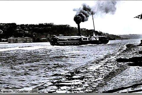 1890 Boğaz'da yandan çarklı